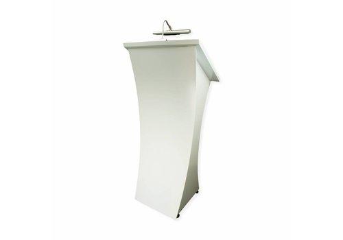 Bravour Spreekgestoelte Neptune - Chique houten, wit