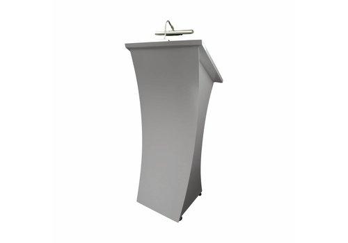 Bravour Neptune gris grafito- Atril de madera, podio