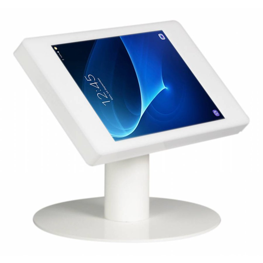 "Tablet desk stand for Samsung Tab A  2018 10.5"" black, white Fino"