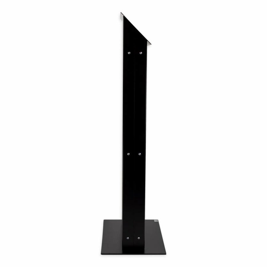 Monitor & Touch screen Floor stand VESA 75/100/200, Largo, black, white