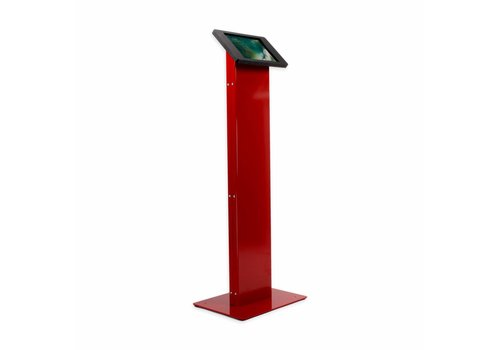 "Bravour Tablet display kiosk for iPad 9.7""/iPad Air/iPad 10.5""/ iPad 2017 / iPad 2018 Chiosco, red/black"