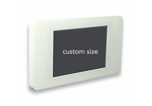 Bravour Vlakke wandhouder voor Samsung Tab S4 10.5 (2018), wit/zwart, Piatto