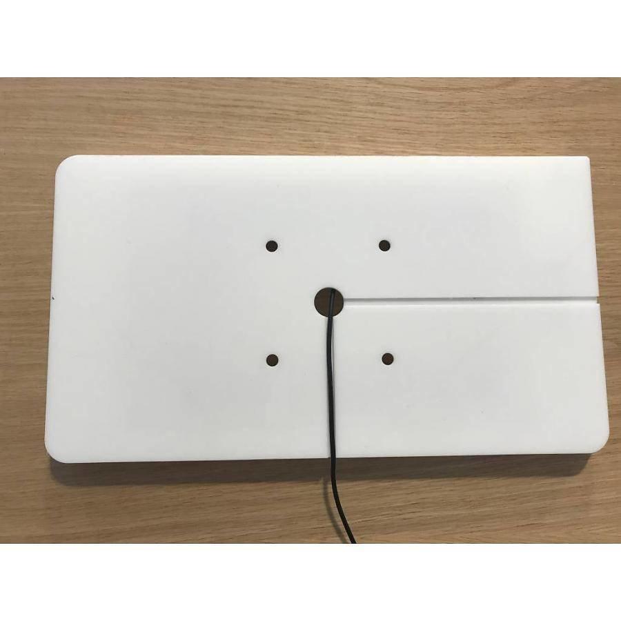 Soporte de pared, muro para Samsung Tab S4 10.5 (2018), blanco/negro, Piatto