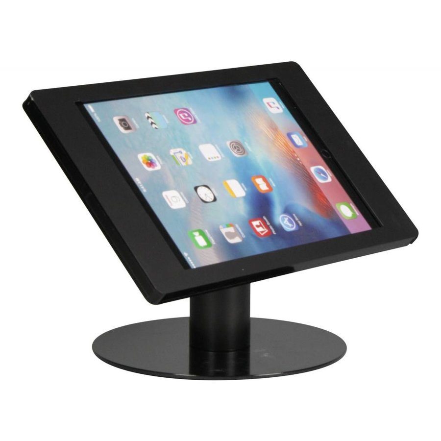 "iPad Pro 12.9""  (2018) desk stand Fino black, lock included."