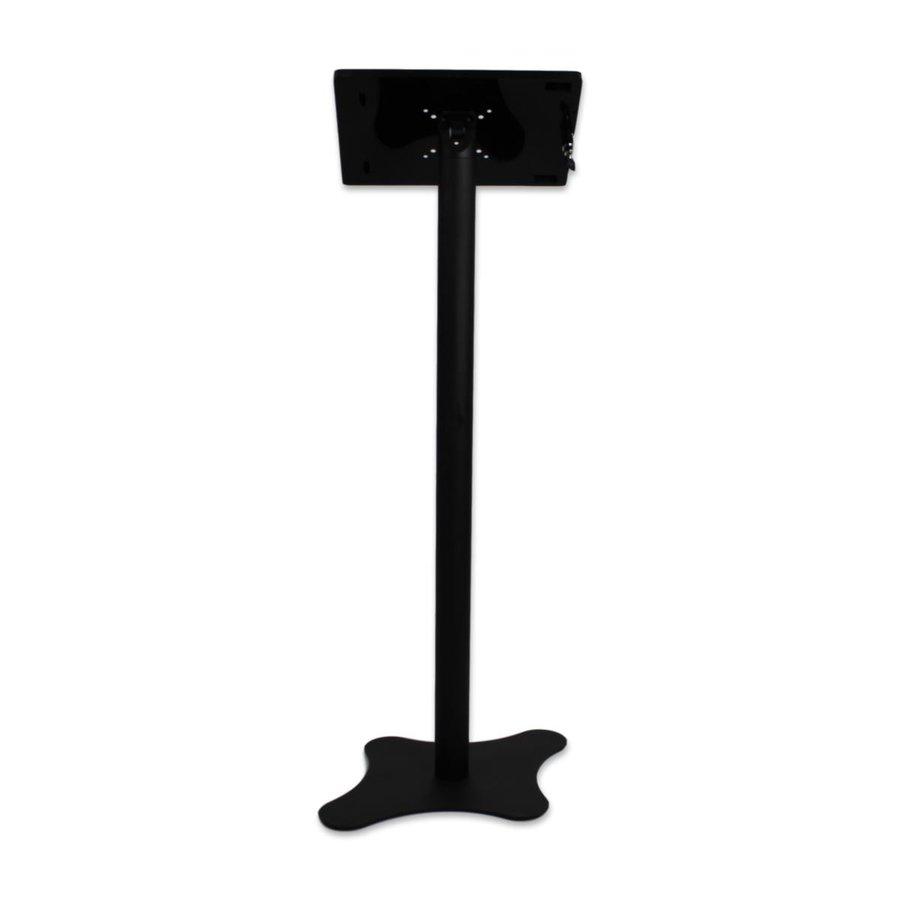 Universal tablet floor stand Nuvola-Securo for tablets between 9-11, black