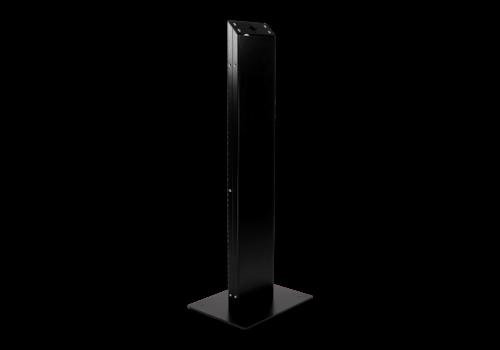 Bravour Totem para monitor con VESA 75/100/200 Chiosco, negro, blanco