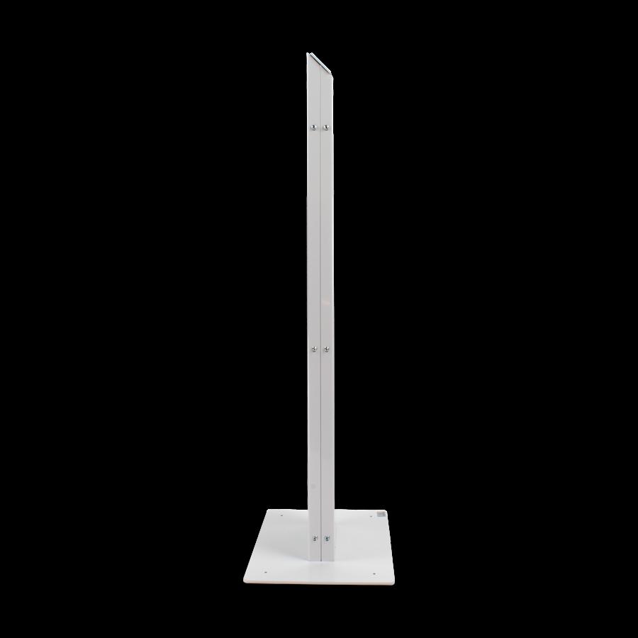 Monitor & Touch screen Floor stand VESA 75/100/200, Chiosco, black, white