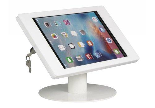 Bravour Soporte para iPad escritorio iPad Pro 12.9, Carcasa en acrílico blanco, Fino