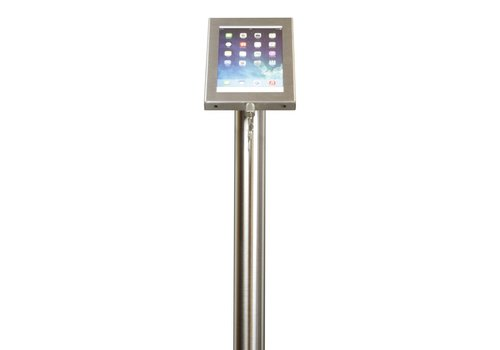 Bravour Tablet floor stand Securo 7-8 inch stainless steel lockable