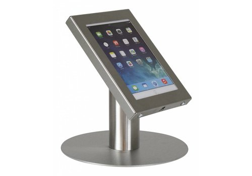 Bravour Tablet desk stand Securo 7-8 inch stainless steel lockable