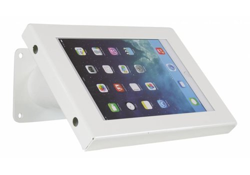 Bravour Tablet wand- en tafelhouder, wit, voor 7 tot 8 inch tablets, Securo, afsluitbaar
