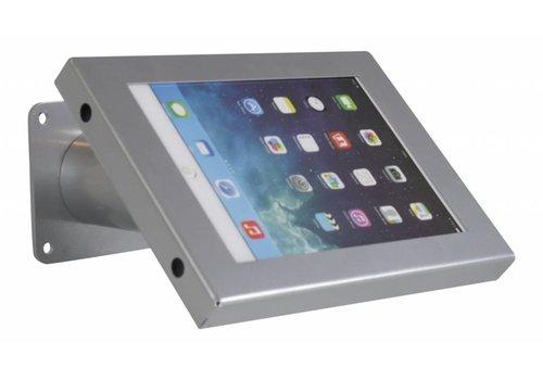 Bravour Tablet muur- en tafelhouder, grijs, voor 7 tot 8 inch tablets, Securo, afsluitbaar