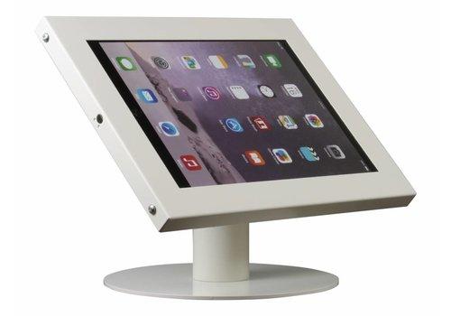 Bravour Tablethouder voor tablets tussen 12-13 inch, wit, staand op tafel