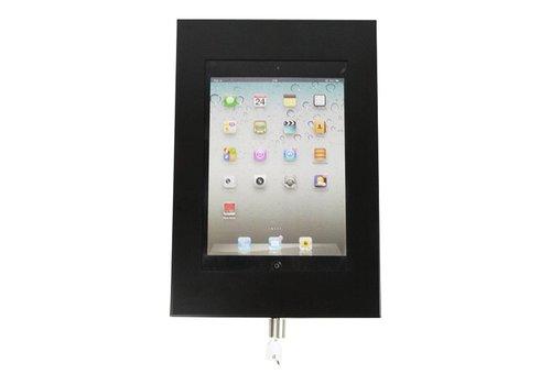 Bravour Wandhouder, zwart, voor 7 tot 8 inch tablets, Securo, afsluitbaar