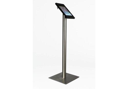 Bravour Soporte de piso para iPad Mini, negro/acero, Fino