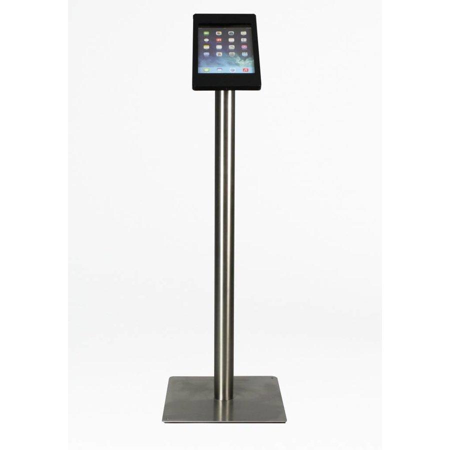 Soporte para iPad Mini, negro/acero, Fino