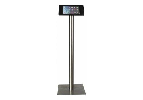 Bravour Soporte de piso para iPad Pro 9,7 iPad Air, negro/acero, Fino