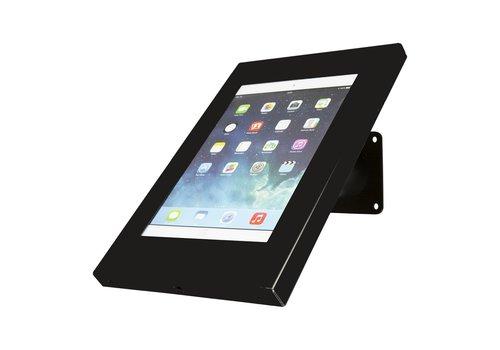 Bravour Tablet wand- en tafelhouder, zwart, voor 9 tot 11 inch tablets, Securo, afsluitbaar