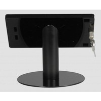 iPad mini desk stand Fino black, lock included, portrait-landscape or tilting module for a better view angle (optional)