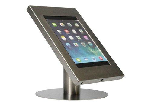 """Bravour Soporte tablet de escritorio acabado en acero inoxidable para tabletas entre 9-11"""" Securo"""