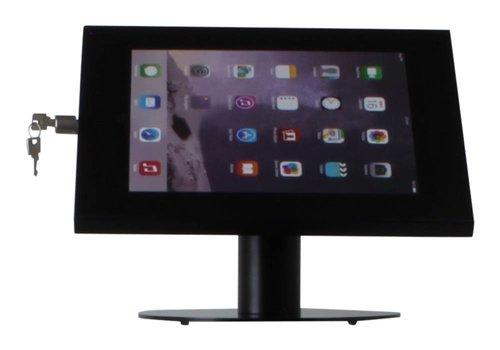 Bravour Tablethouder voor tablets tussen 12-13 inch, zwart, staand op tafel