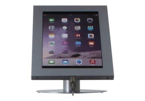 Bravour Tablethouder voor tablets 12-13 inch, zilvergrijs, staand op tafel