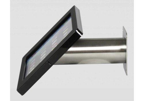Bravour iPad houder zwart/staal voor iPad Pro 12.9; Fino, houder voor wand-, tafel montage