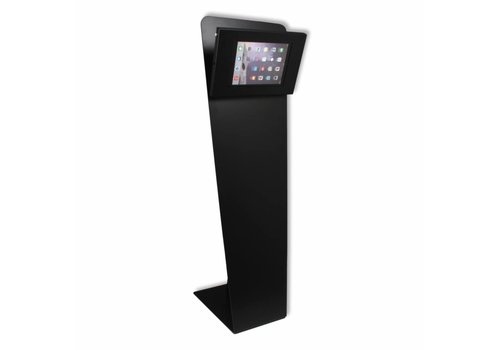 Bravour Tablet vloerstandaard zwart voor tablets tussen 9-11 inch, Kiosk