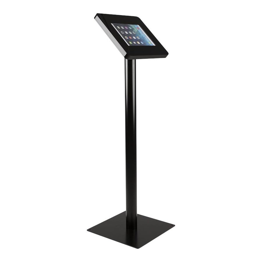 Tablet floor stand Meglio black cassette 9-11 inch with black base