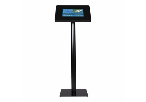 Bravour Tablet floor stand Meglio black cassette 12-13 inch with black base