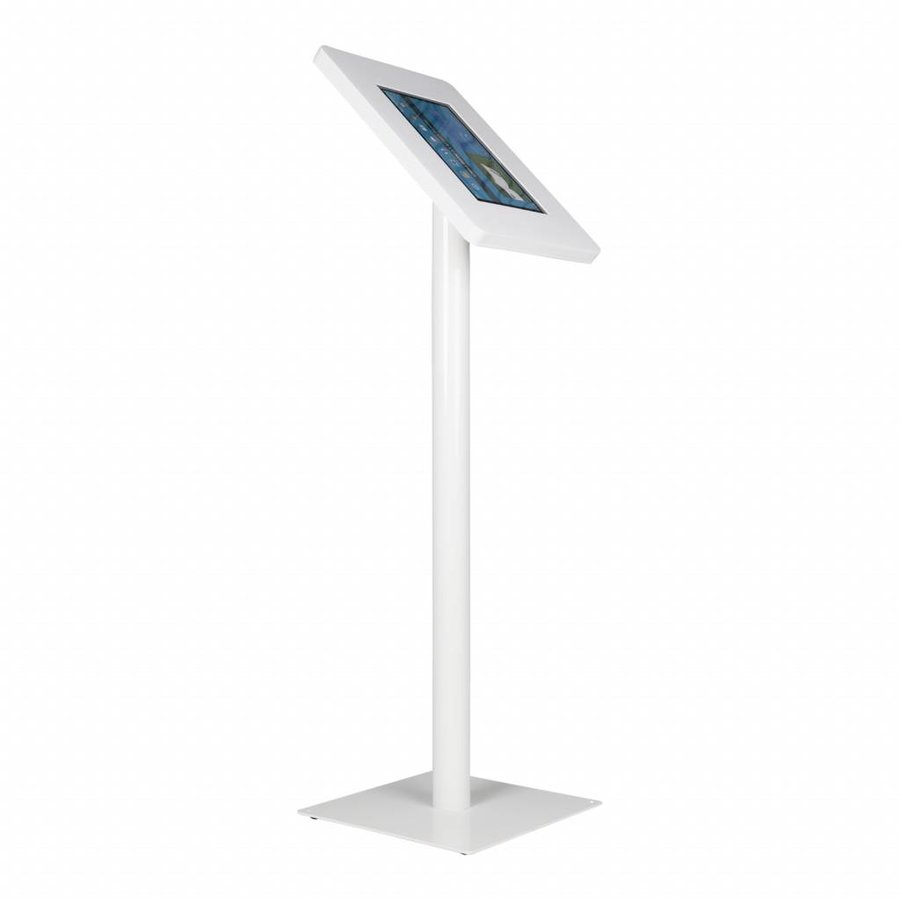 Floor stand Meglio white cassette 12-13 inch with white base