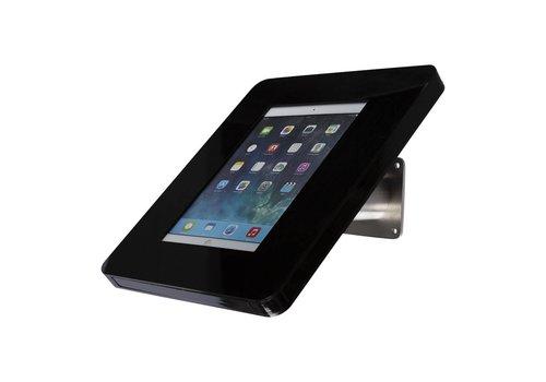 Bravour Wandhouder Meglio-acrylaat cassette- voor tablet 7-8 inch, zwart/RVS