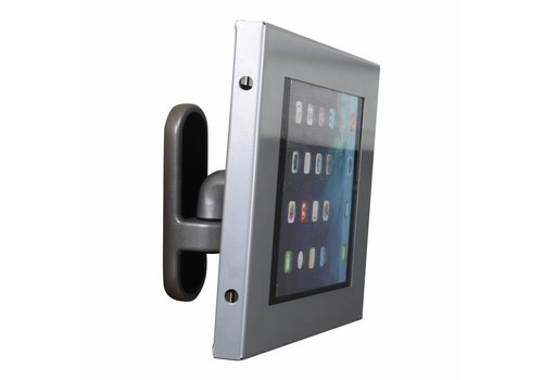 Bravour 7-8 inch Tablet wall mount Flessibile at 125 mm from the wall with securo enclosure.