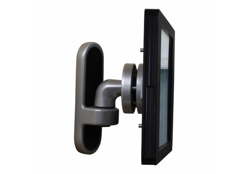 "Bravour 9-11"" Tablet wall mount Flessibile at 125 mm from the wall with Securo enclosure."