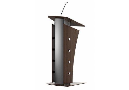 Bravour Armagosa - estrado metálico con detalles en madera