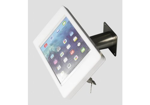 Bravour iPad mini wall or desk mount Fino white/stainless steel