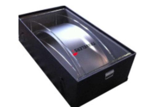 Bravour Plastic flight case for lecterns