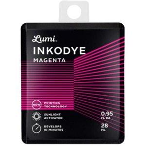 Inkodye DIY Zeefdruk inkt Snap Pack 28 ml. magenta