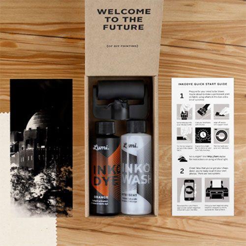 Inkodye DIY silkscreen ink Package orange