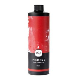Inkodye DIY Silkscreen ink Red 118 ml.