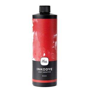 Inkodye DIY Zeefdruk inkt Rood 118 ml.