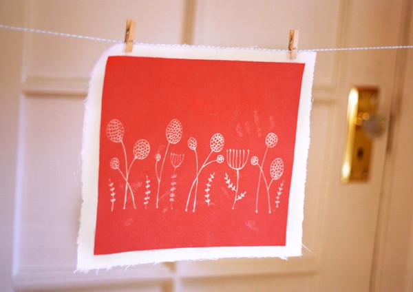 Inkodye DIY zeefdruk inkt Pakket rode inkt