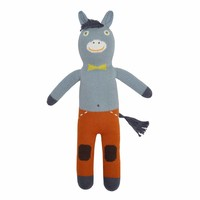 knitted doll Donkey Albert