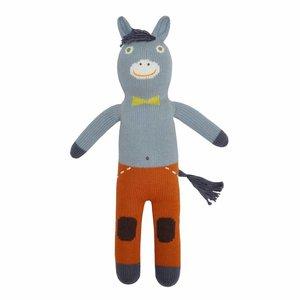 BlaBla Kids Gebreide knuffel ezel Albert