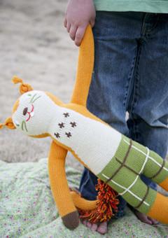 BlaBla Kids Knitted doll Squirrel Mc. Nutty