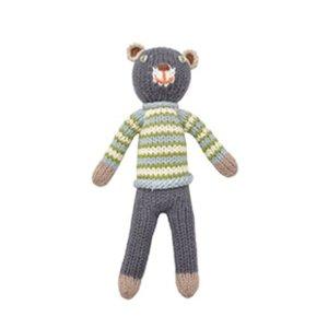 BlaBla Kids Knitted rattle doll bear boy