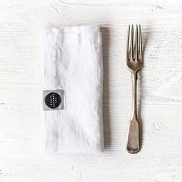 notPERFECTLINEN Napkins linen white