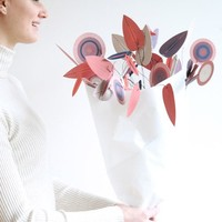 DIY Woondecoratie Bloemen Blatt