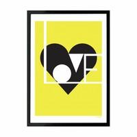 Giclée print Love limoen