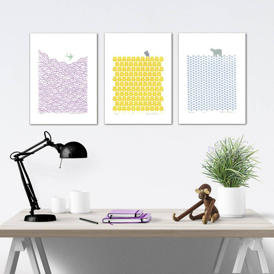 Lu West Limited screen print Mouse